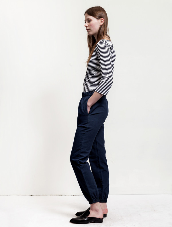 Sunspel Tapered Washed Trouser