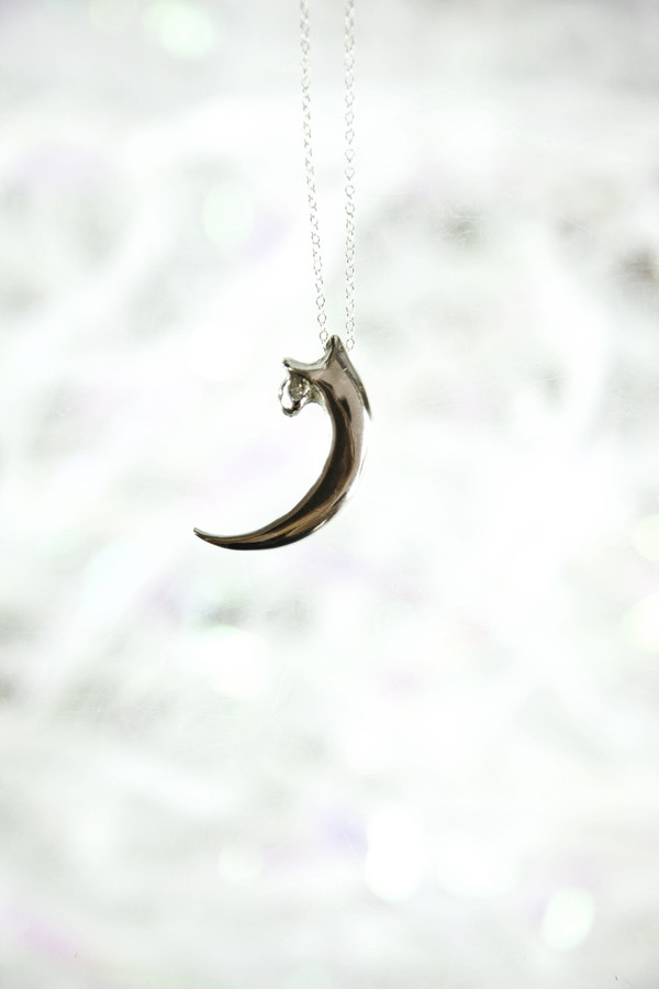 Erica Weiner Bald Eagle Talon Necklace