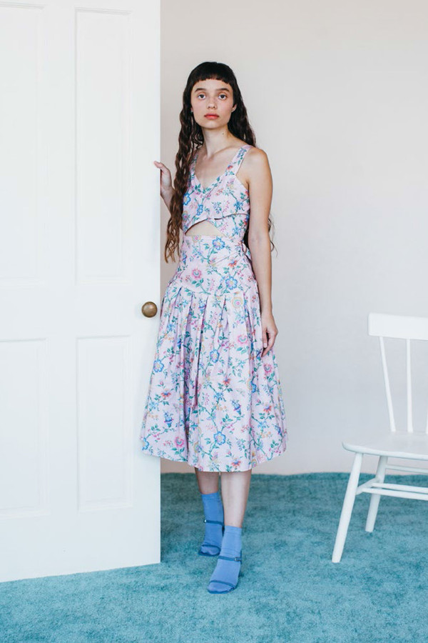 Samantha Pleet Curtain Dress