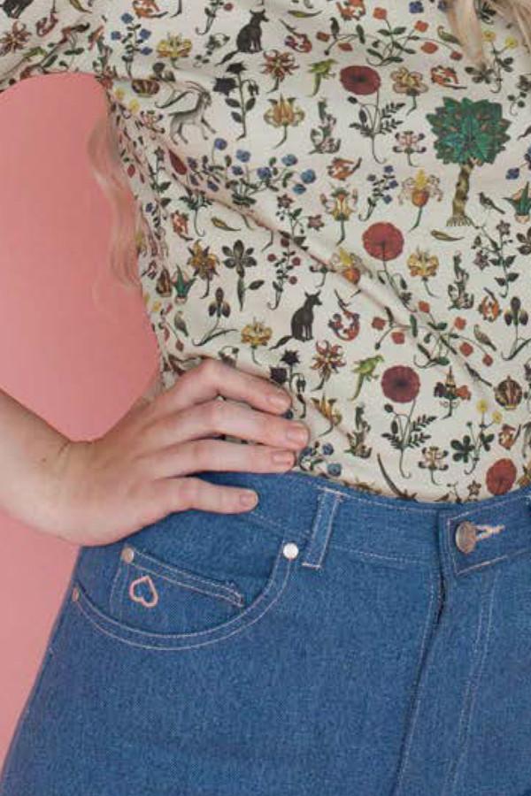 Samantha Pleet Port Jeans