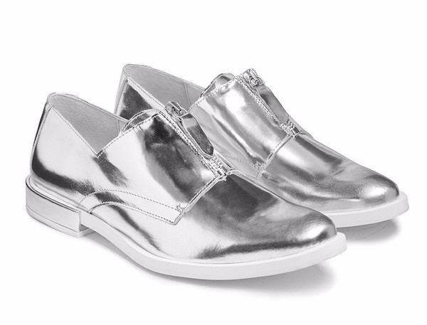 Miist Rosana Silver Shoes