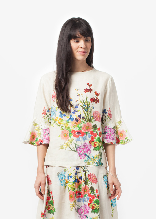 Hannes Roether Hommage Bell Sleeve Top