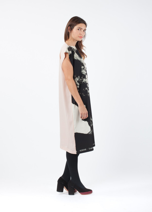 A Détacher Solid Back Donata Dress