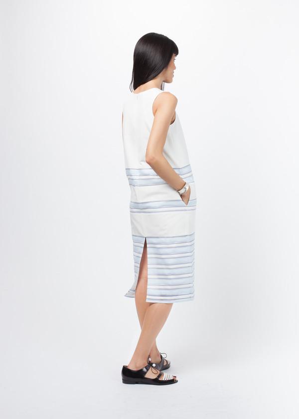 Sayaka Davis Striped Sleeveless Dress