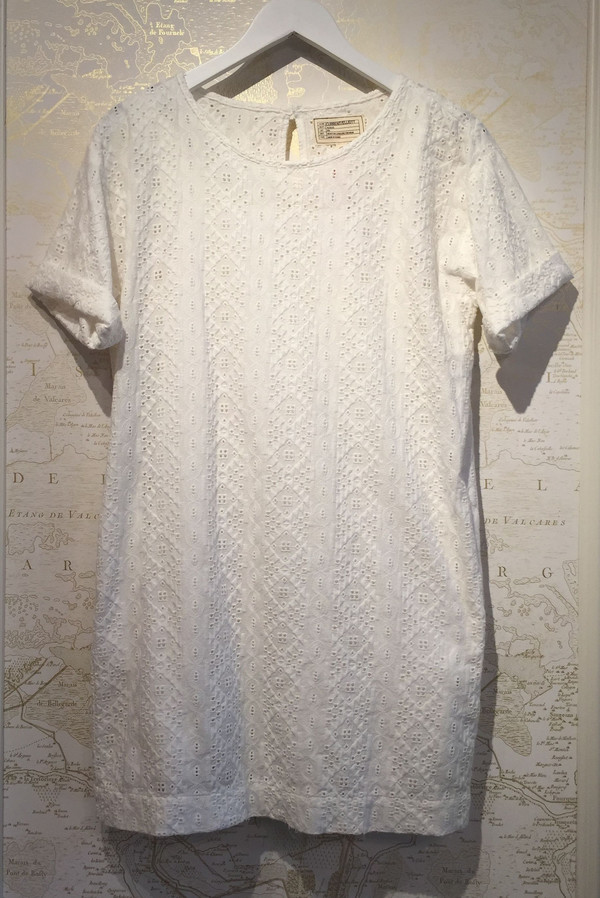 Current Elliott Eyelet Tshirt Dress