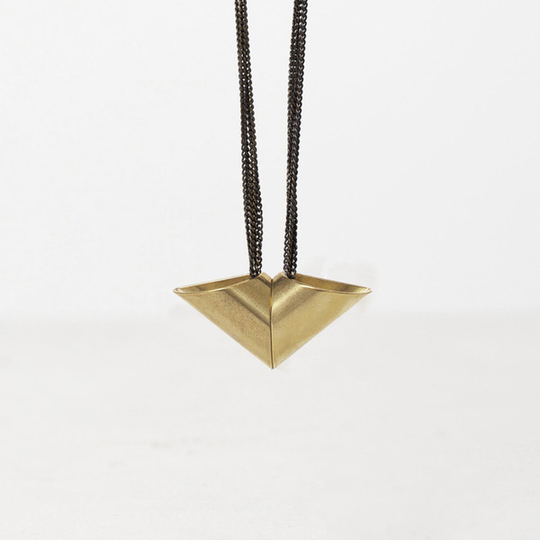 7115 by Szeki Arrow Tube Necklace