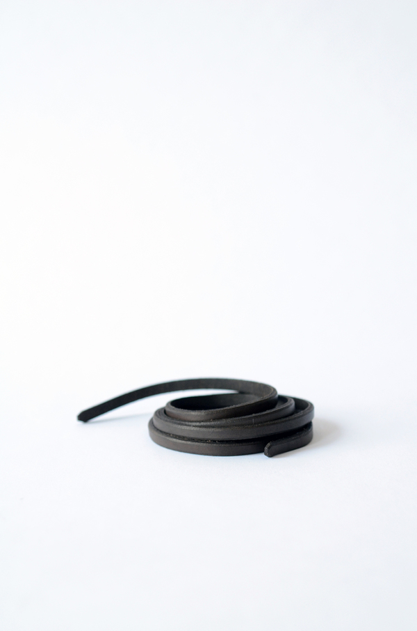 Thin Double Wrap Belt