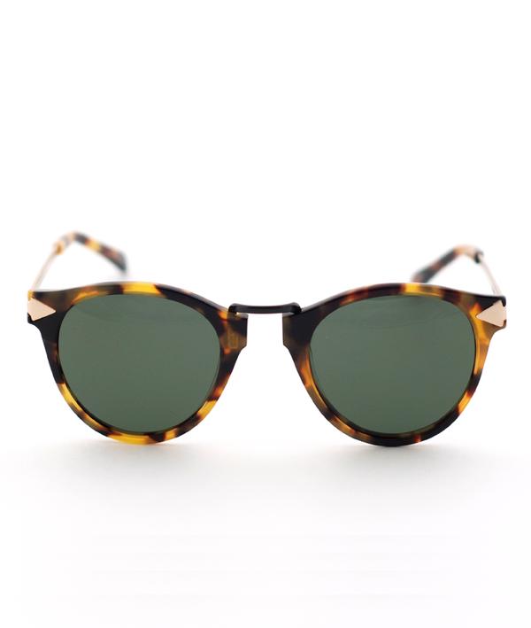 Karen Walker Helter Skelter Tortoise Sunglasses