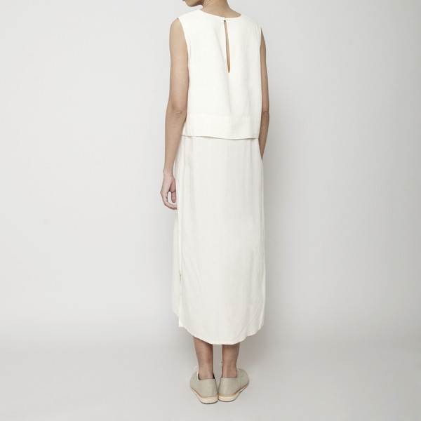 7115 by Szeki Sleeveless Layered Dress