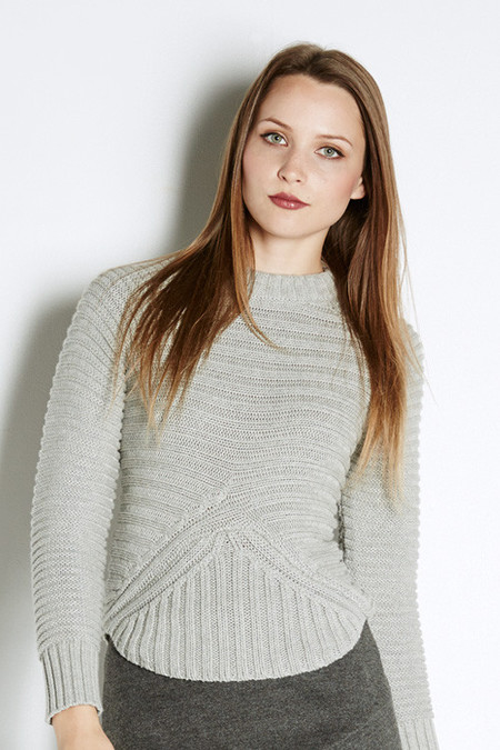 Minty Meets Munt Rib Knit Sweater