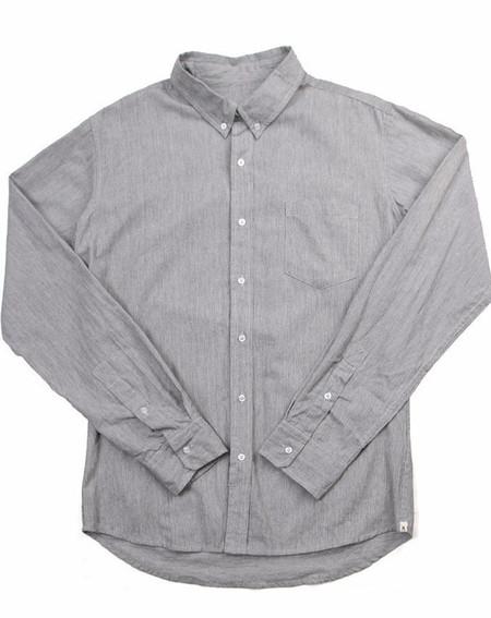 Men's Bridge & Burn Fulton Linen Pinstripe Shirt