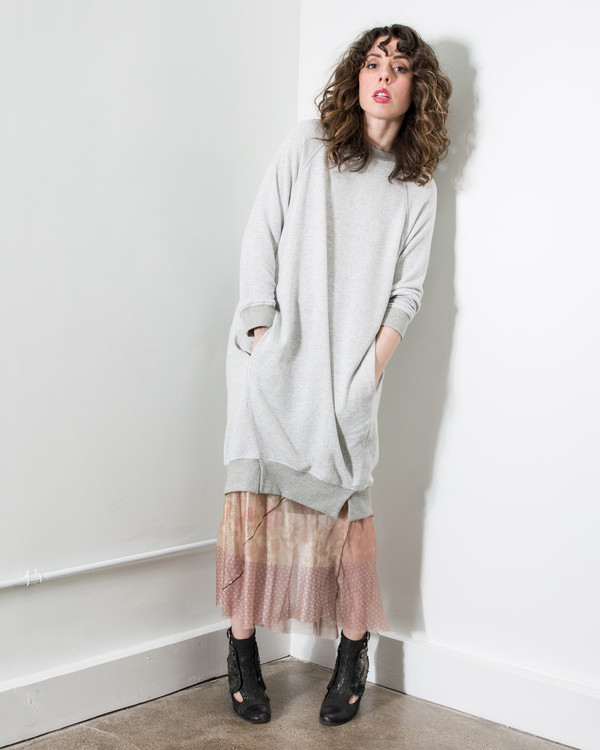 34N 118W Sweatshirt Dress