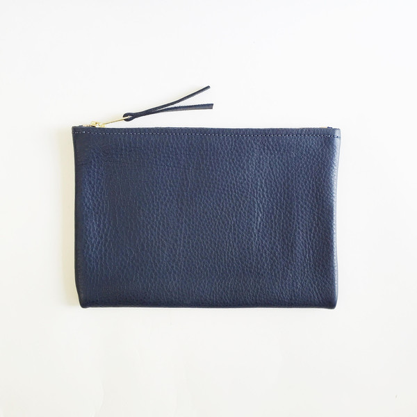 ARA Handbags - Navy Clutch No. 1
