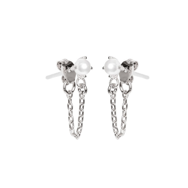 BING BANG JEWELRY / B.O. PERLE ET CHAINE - ARGENT