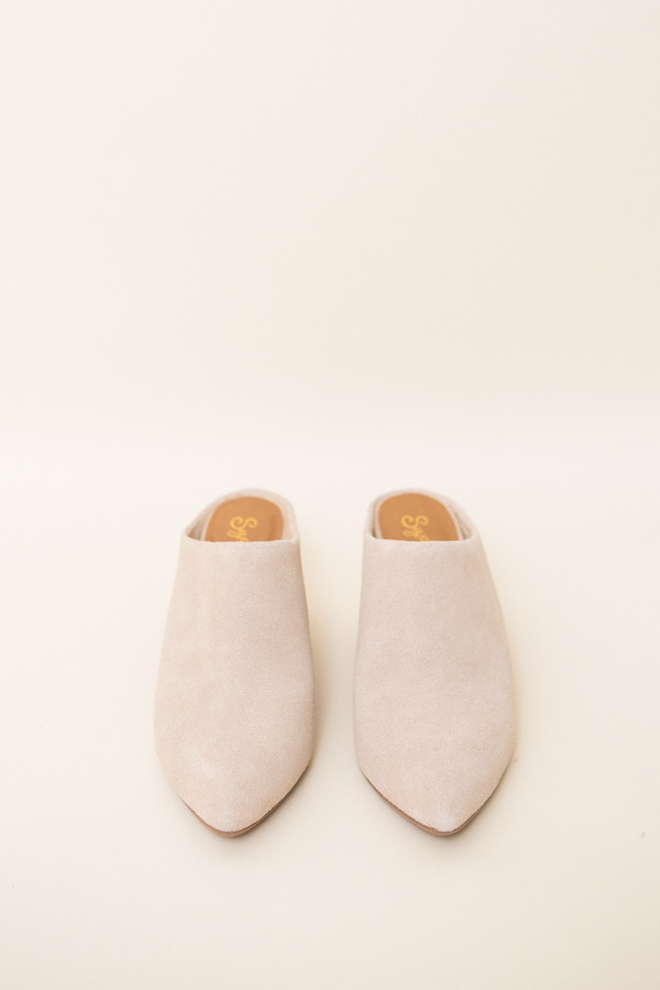 Seychelles Got the Answer Mules / Natural Suede