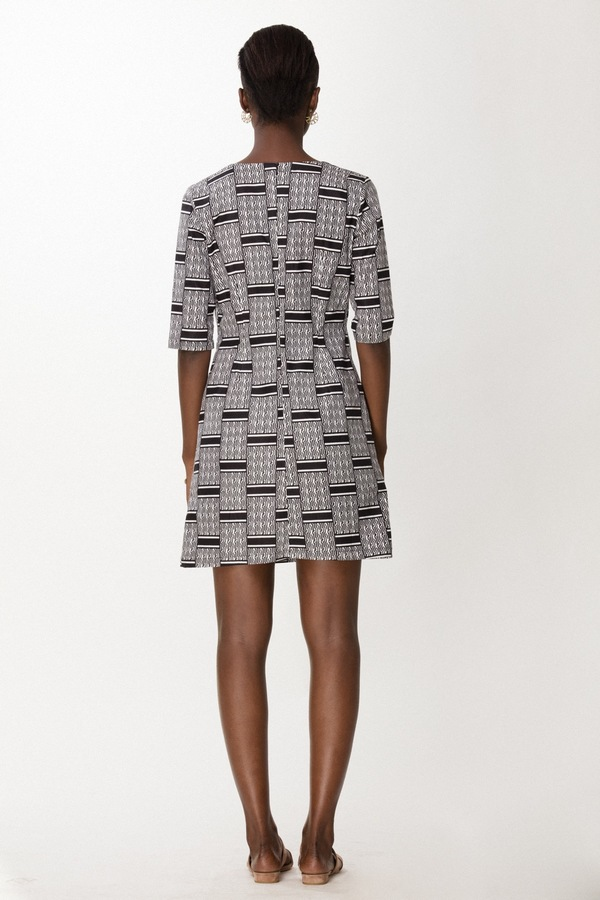 Osei-Duro Muto Mini in Woven Waxprint