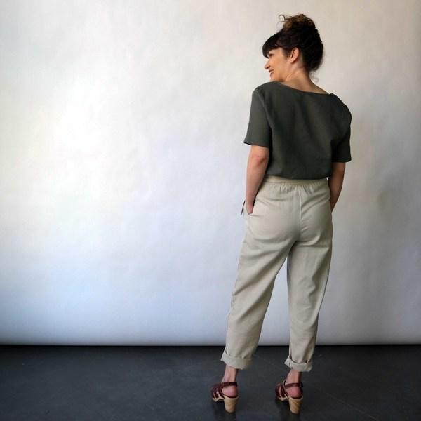 Curator Clove Pants in Tan