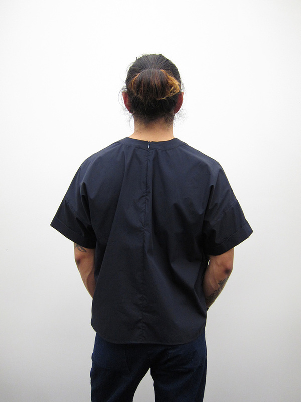 Unisex Suzanne Rae Oversized Pocket T, Cotton/Nylon
