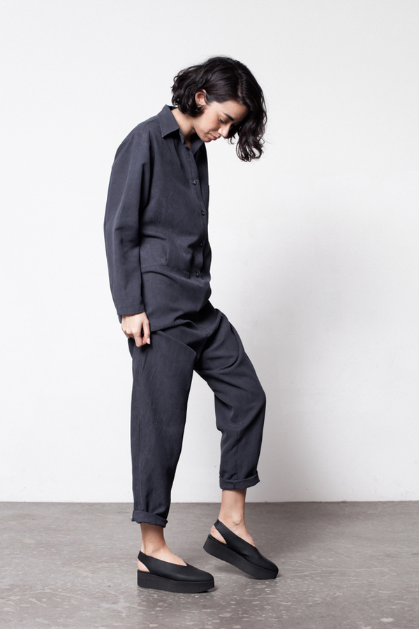 Base Range Shirt Jumpsuit