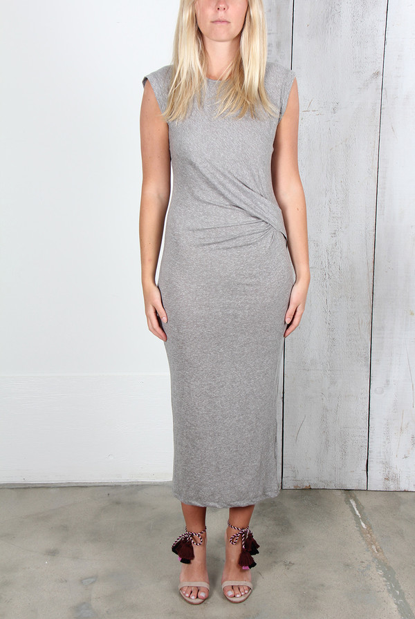 IRO ADONIS DRESS IN GREY
