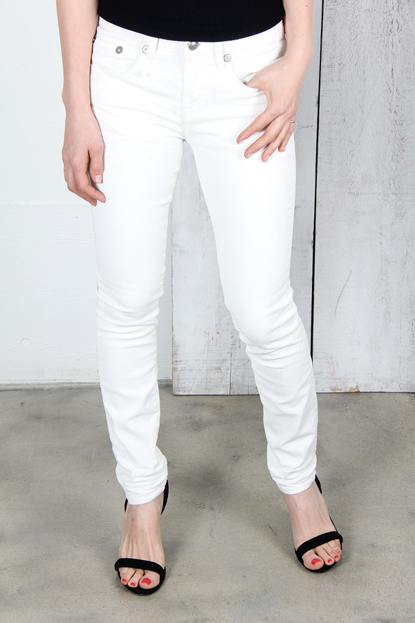 R13 ALLISON CROP SKINNY JEANS
