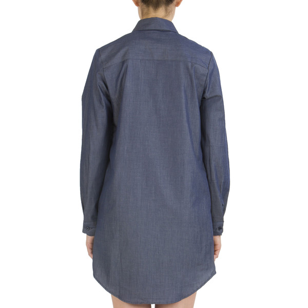 NAKED AND FAMOUS ROBE Denim Chemise