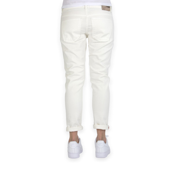 NAKED AND FAMOUS JEANS FEMME THE BOYFRIEND - BLANC