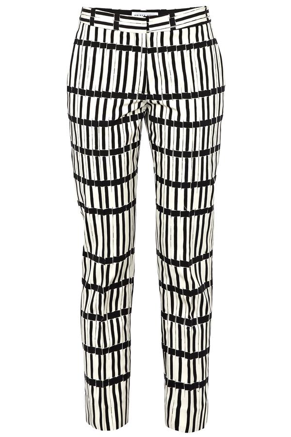Apiece Apart Neo Slim Fit Grid Print Pants