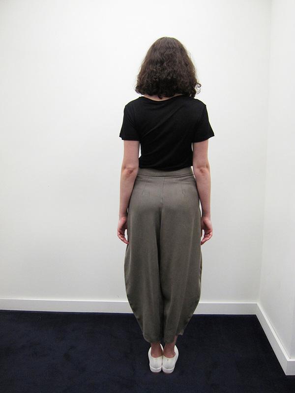 Howard Deep Pleat Pant