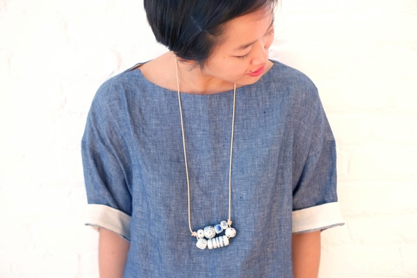 Jujumade honeycomb necklace