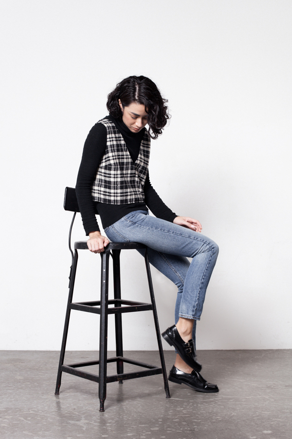 Markoo Nikki Plaid Top