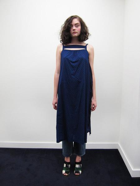Cosmic Wonder Lawn Snow-Cut Camisole Dress