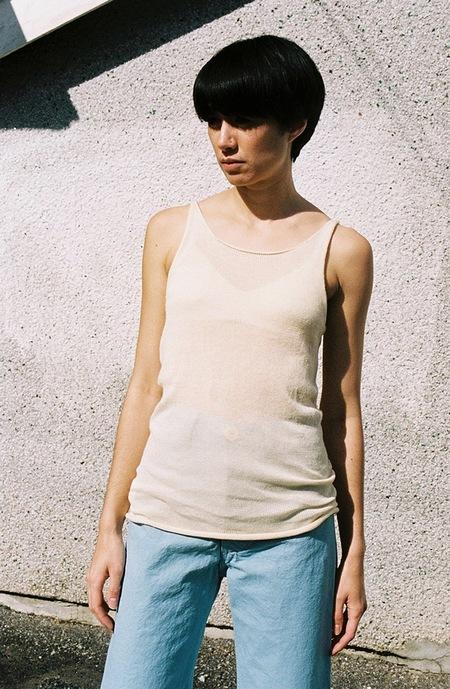 Lauren Manoogian Fine Tank - crudo