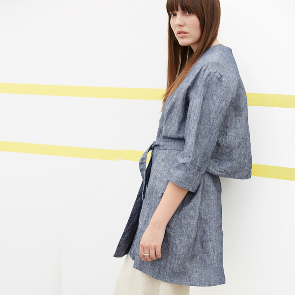 Ali Golden LINEN COAT