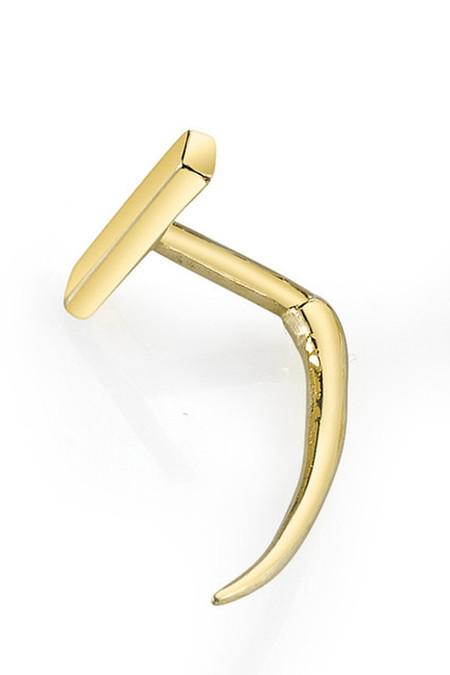 Gabriela Artigas & Company 14K Gold Infinite Tusk Earrings