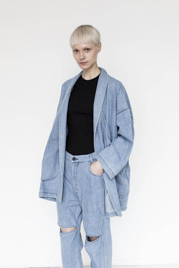69 Cotton Pocket Blazer