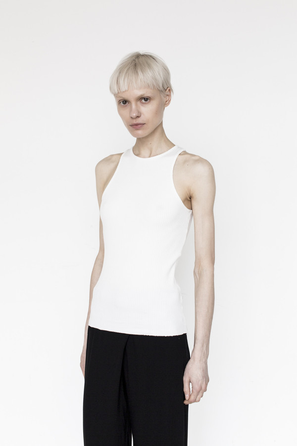 Assembly Cotton Swim Tank - White