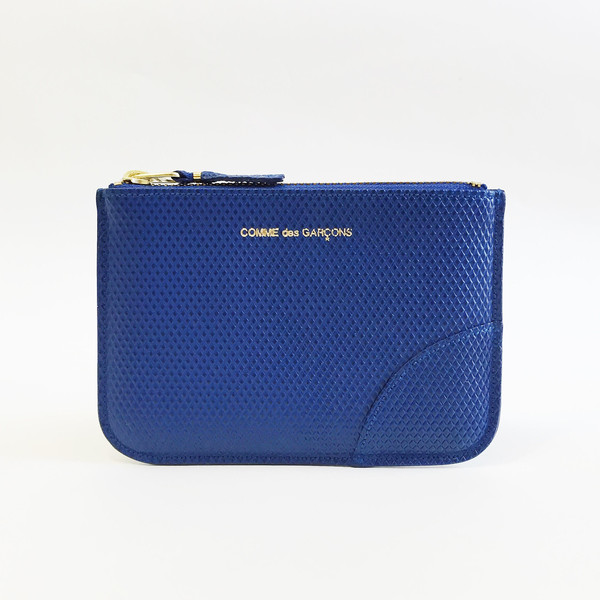 Comme des Garcons - Luxury Group Small Blue Zip-up Pouch
