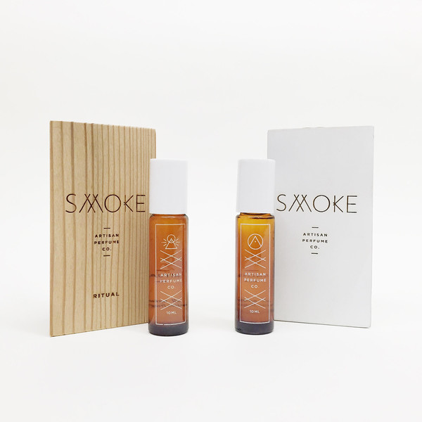Smoke Perfume Roll On Fragrance - Ritual