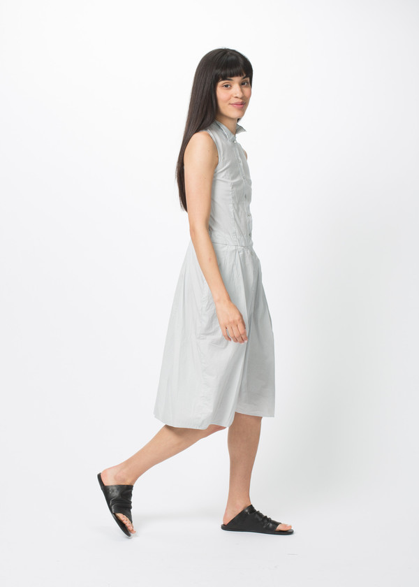 Kristensen du Nord Sleeveless Button Down Dress