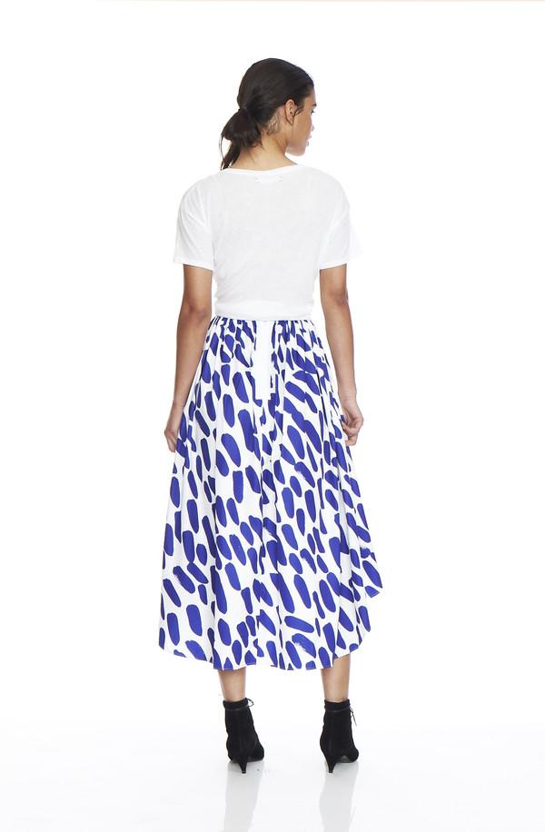 EDIT Two Tone Midi Skirt