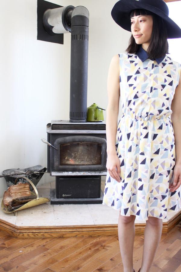 Eve Gravel Sundae Dress