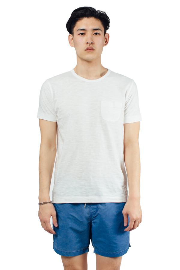 Men's YMC Classic Pocket Tee White