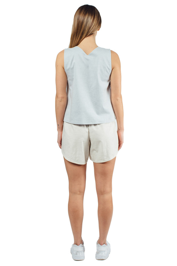 Priory Kaee Shorts White Melange