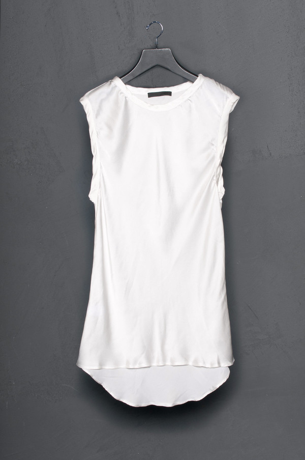 KES Cover Stitch Sleeveless Blouse