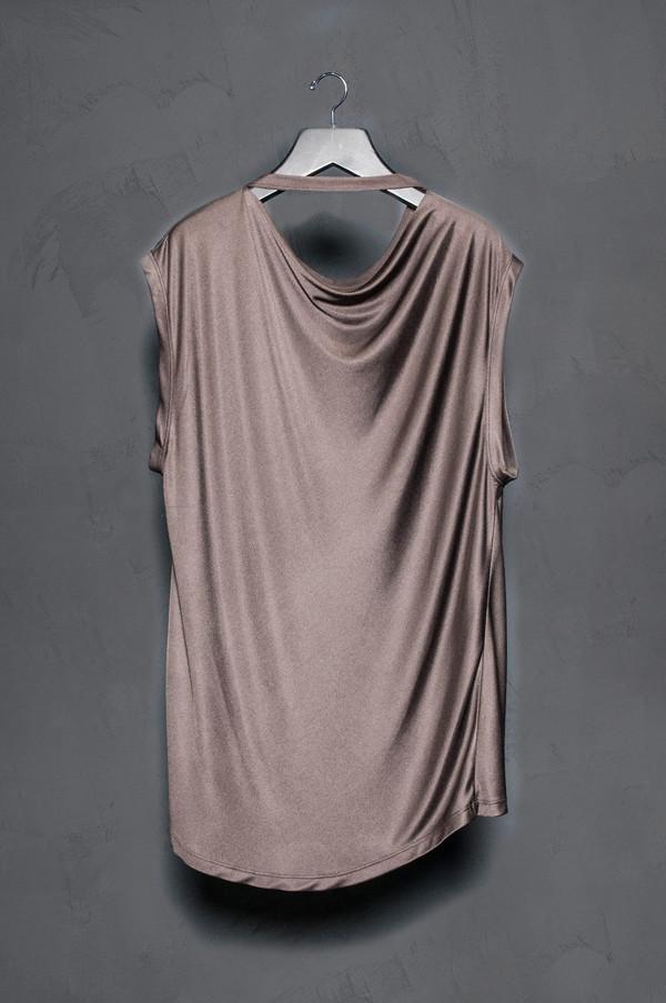 KES Sleeveless Silk Jersey Tee