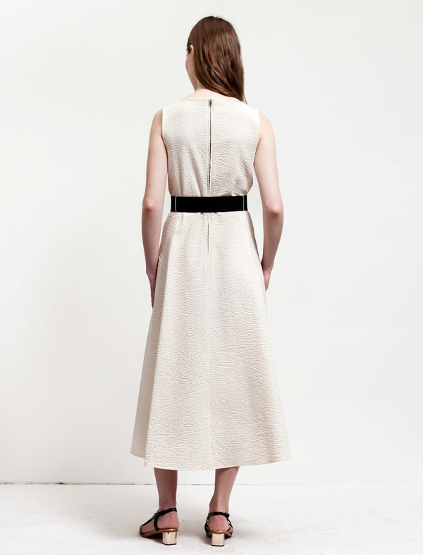 Lemaire Flared Dress Cream