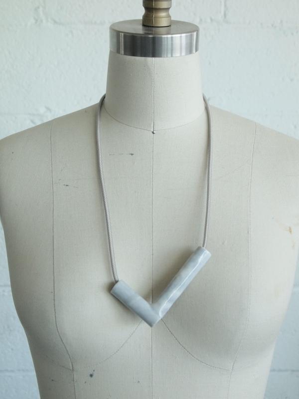YYY L bead necklace