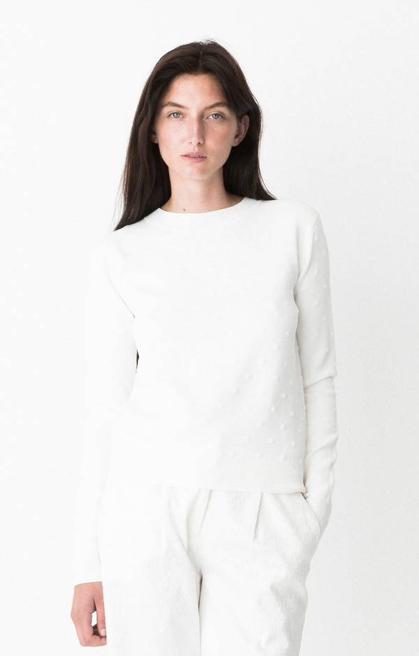 "Storm and Marie ""Ultima"" Lightweight Textured Sweater"