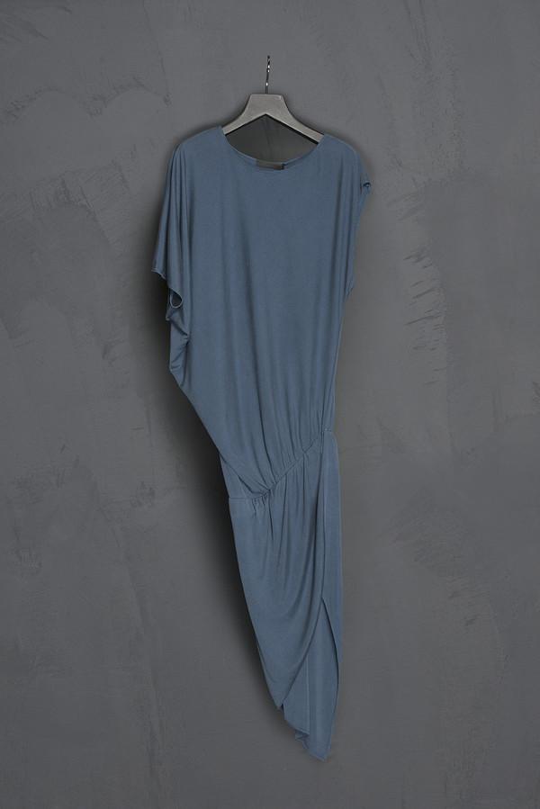 KES Silk Jersey Asymmetric Dress